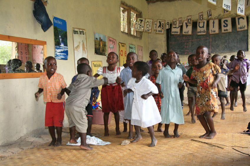 14612085 - local school in uganda in east africa