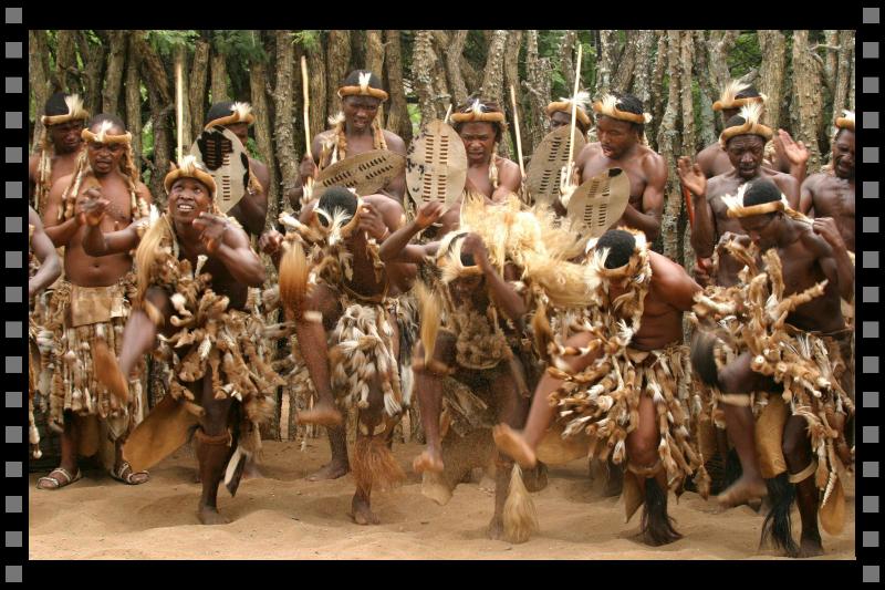 Zulu cultural dance 1